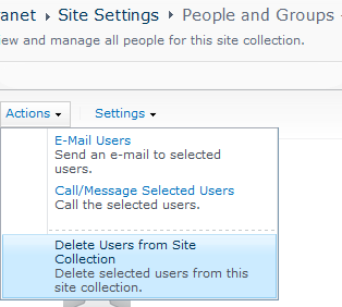 list sharepoint profile bdeleted=1